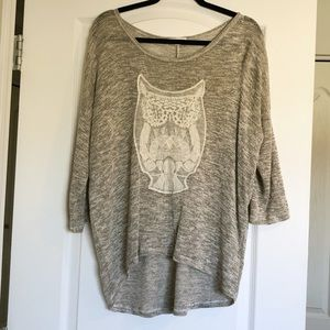 🛍 3/$20 SALE - Lightweight Owl Sweater